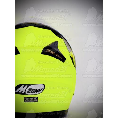 """kesztyű, L, motoros, hosszú ujjas, fekete/ neon sárga, megbízható TPU protektorral, magas minőségű """"drum dyed"""", Analine bőrből"""